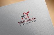 Watchman Surveillance Logo - Entry #288