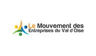Le Mouvement des Entreprises du Val d'Oise Logo - Entry #47