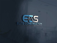 Elite Construction Services or ECS Logo - Entry #284