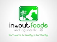 In & Out Foods and Logistics LLC Logo - Entry #44
