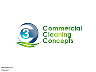 Commercial Cleaning Concepts Logo - Entry #52