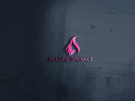 Allure Spa Nails Logo - Entry #180