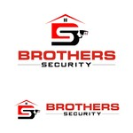 Brothers Security Logo - Entry #223