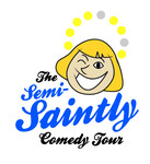 The Semi-Saintly Comedy Tour Logo - Entry #60