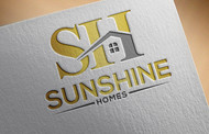Sunshine Homes Logo - Entry #320