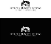 Rebecca Munster Designs (RMD) Logo - Entry #23