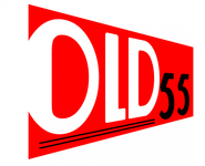 """""""OLD 55"""" - mid-century vintage furniture and wares store Logo - Entry #114"""