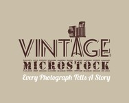 Vintage Microstock Logo - Entry #4