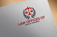 Law Offices of David R. Monarch Logo - Entry #209