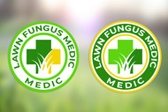 Lawn Fungus Medic Logo - Entry #135