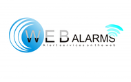 Logo for WebAlarms - Alert services on the web - Entry #76