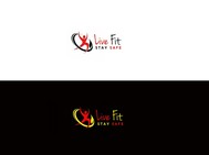 Live Fit Stay Safe Logo - Entry #282