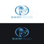 Blue Sky Life Plans Logo - Entry #324