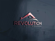 Revolution Roofing Logo - Entry #188