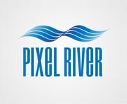 Pixel River Logo - Online Marketing Agency - Entry #220
