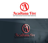 Acadiana Fire Extinguisher Sales and Service Logo - Entry #209