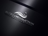 Elite Construction Services or ECS Logo - Entry #138