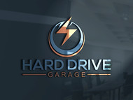 Hard drive garage Logo - Entry #132