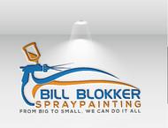 Bill Blokker Spraypainting Logo - Entry #31