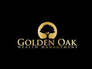 Golden Oak Wealth Management Logo - Entry #29
