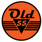 """""""OLD 55"""" - mid-century vintage furniture and wares store Logo - Entry #51"""