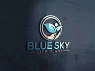 Blue Sky Life Plans Logo - Entry #100