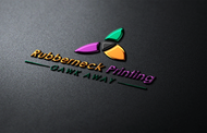 Rubberneck Printing Logo - Entry #12