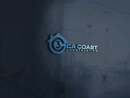CA Coast Construction Logo - Entry #81