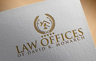 Law Offices of David R. Monarch Logo - Entry #230