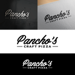 Pancho's Craft Pizza Logo - Entry #108