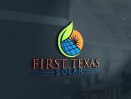 First Texas Solar Logo - Entry #66