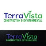 TerraVista Construction & Environmental Logo - Entry #284