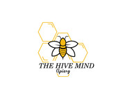 The Hive Mind Apiary Logo - Entry #80