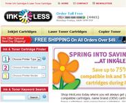 Leading online ink and toner supplier Logo - Entry #72