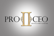 PRO2CEO Personal/Professional Development Company  Logo - Entry #9