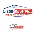 1-800-Roof-Plus Logo - Entry #116