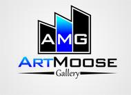 ArtMoose Gallery Logo - Entry #19