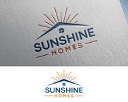 Sunshine Homes Logo - Entry #177