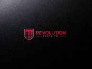 Revolution Fence Co. Logo - Entry #125