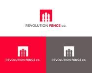 Revolution Fence Co. Logo - Entry #233
