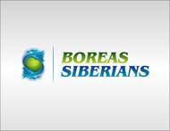 Siberian Husky Logo - Entry #4