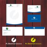 P L Electrical solutions Ltd Logo - Entry #3