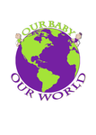 Logo for our Baby product store - Our Baby Our World - Entry #12
