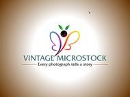 Vintage Microstock Logo - Entry #29