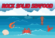 Rock Solid Seafood Logo - Entry #158