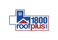 1-800-roof-plus  , i am also going to be using 1800roofplus.com for materials Logo - Entry #15