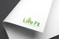 Live Fit Stay Safe Logo - Entry #75