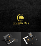 Golden Oak Wealth Management Logo - Entry #110