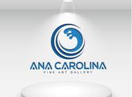 Ana Carolina Fine Art Gallery Logo - Entry #102