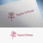 Taylor N Rose Logo - Entry #50